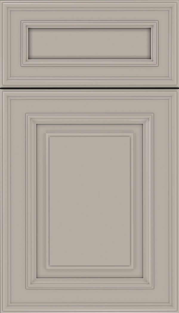 Chamberlain 5pc Maple raised panel cabinet door in Nimbus