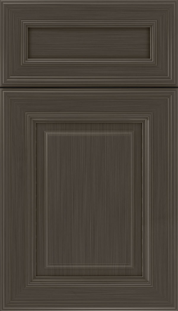 Chamberlain 5pc Maple raised panel cabinet door in Weathered Slate