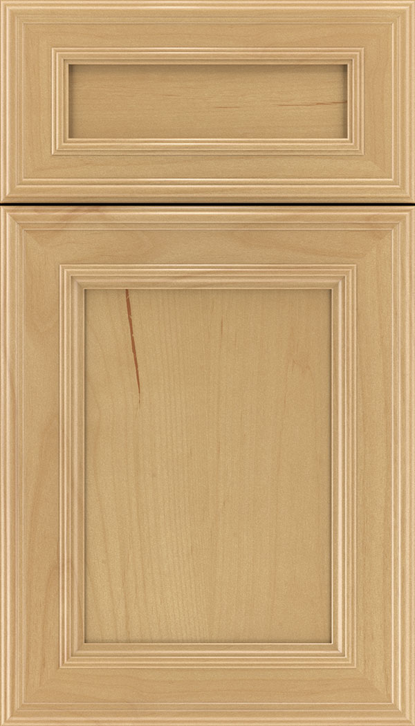 Chatham 5pc Alder recessed panel cabinet door in Natural