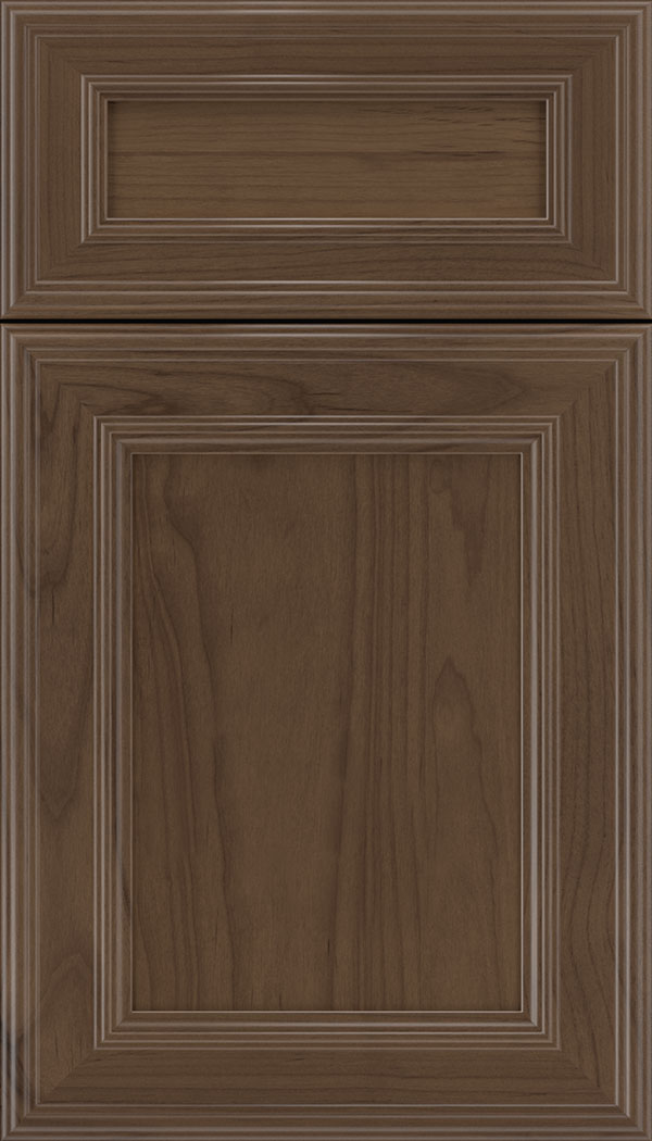 Chatham 5pc Alder recessed panel cabinet door in Toffee