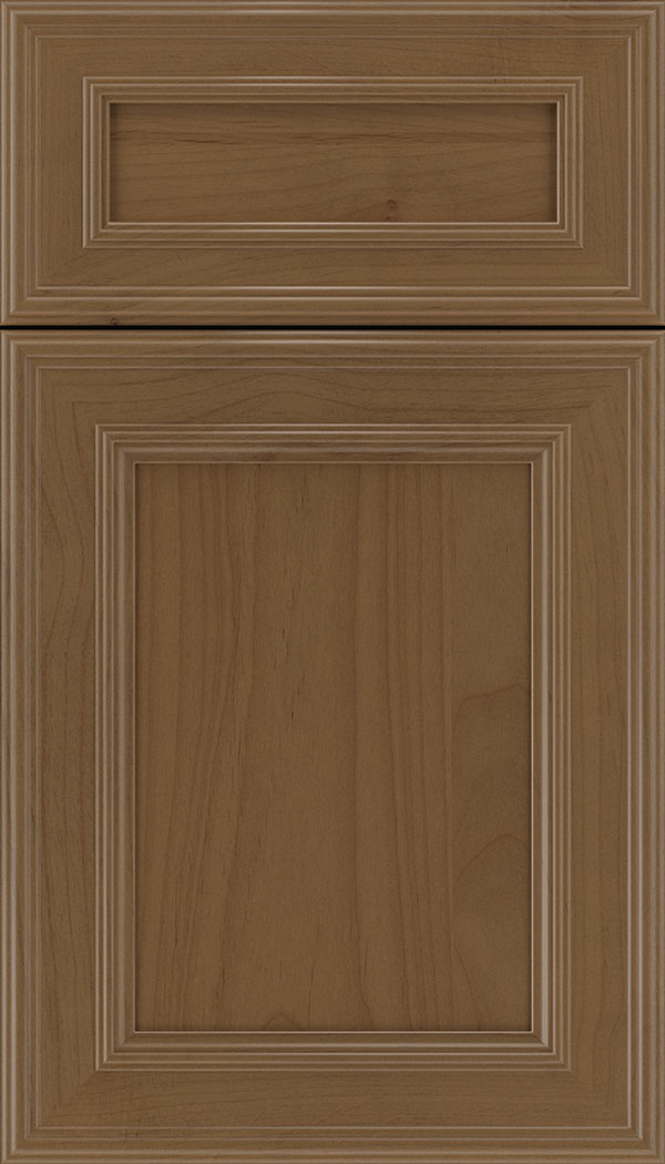 Chatham 5pc Alder recessed panel cabinet door in Tuscan