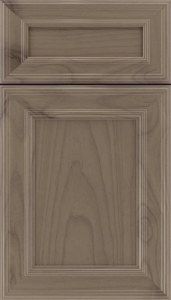 Chatham 5pc Alder recessed panel cabinet door in Winter