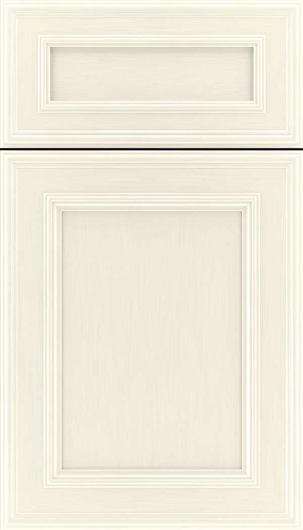 Chatham 5pc Maple recessed panel cabinet door in Millstone