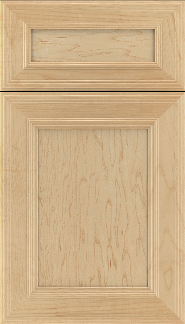Chatham 5pc Maple recessed panel cabinet door in Natural
