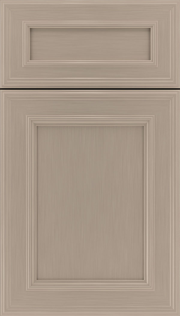 Chatham 5pc Maple recessed panel cabinet door in Portabello