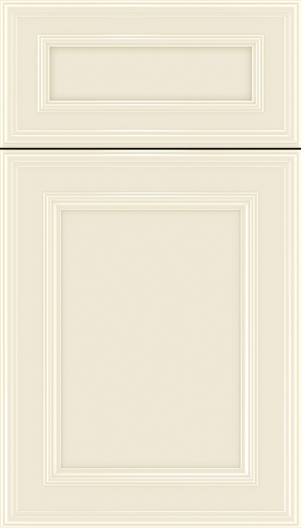 Chatham 5pc Maple recessed panel cabinet door in Seashell