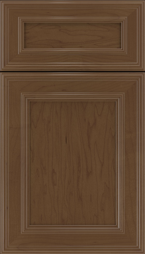 Chatham 5pc Maple recessed panel cabinet door in Sienna
