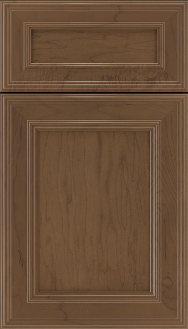 Chatham 5pc Maple recessed panel cabinet door in Toffee