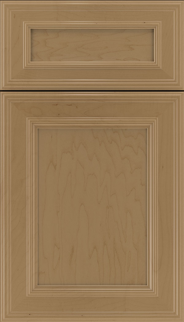 Chatham 5pc Maple recessed panel cabinet door in Tuscan