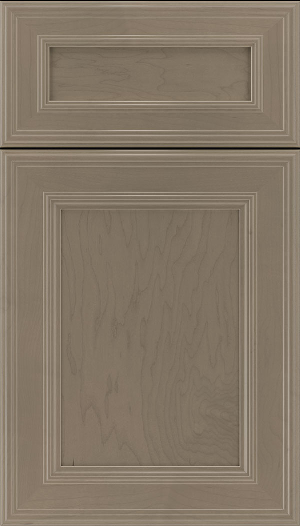 Chatham 5pc Maple recessed panel cabinet door in Winter