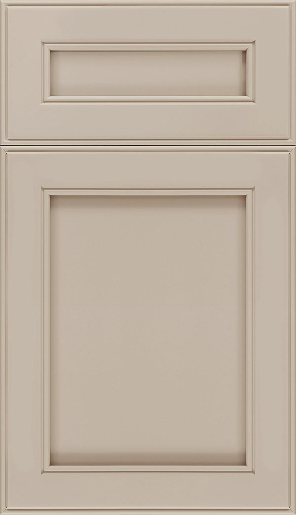 Chelsea 5pc Maple flat panel cabinet door in Moonlight
