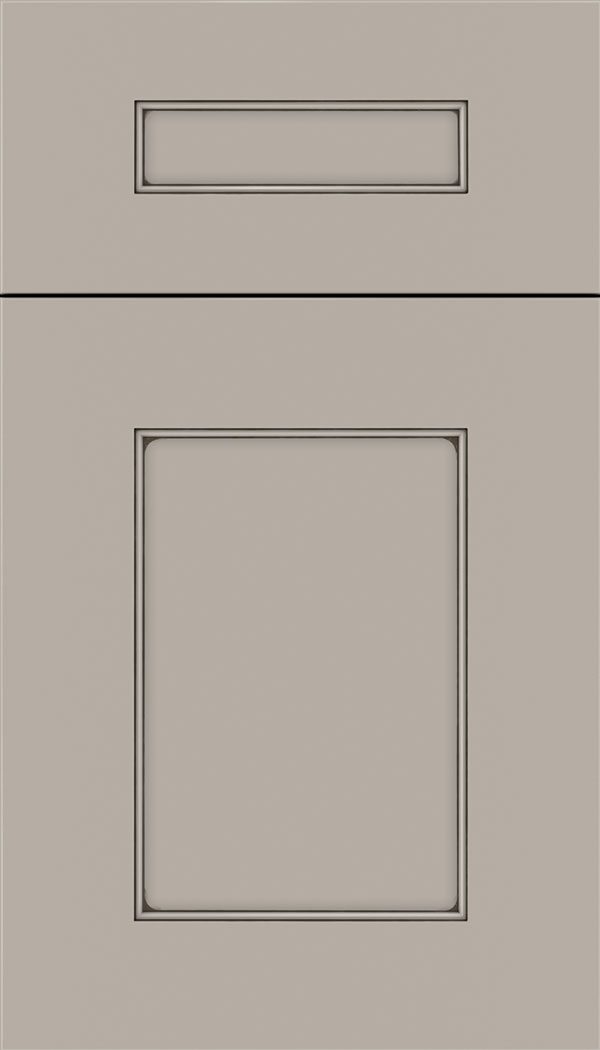 Cochrane 5pc MDF cabinet door in Nimbus with Smoke glaze
