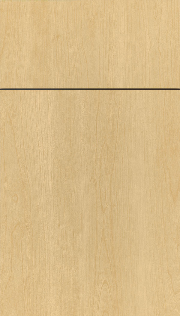 Contempra Melamine cabinet door in Natural
