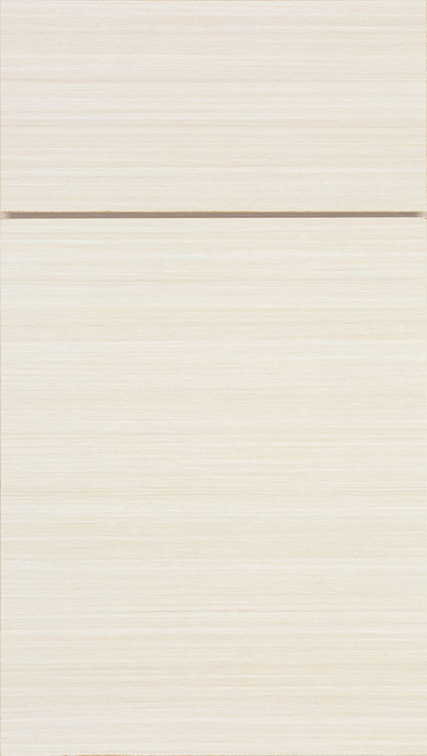 Contempra Horizontal Melamine cabinet door in Driftwood