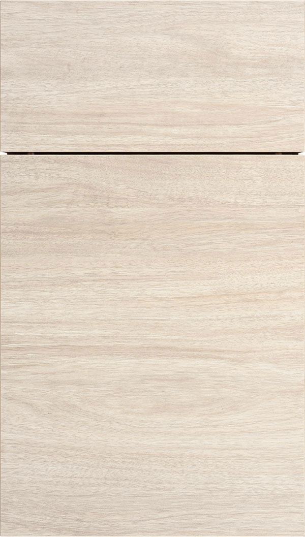 Contempra Horizontal Melamine cabinet door in Ebb