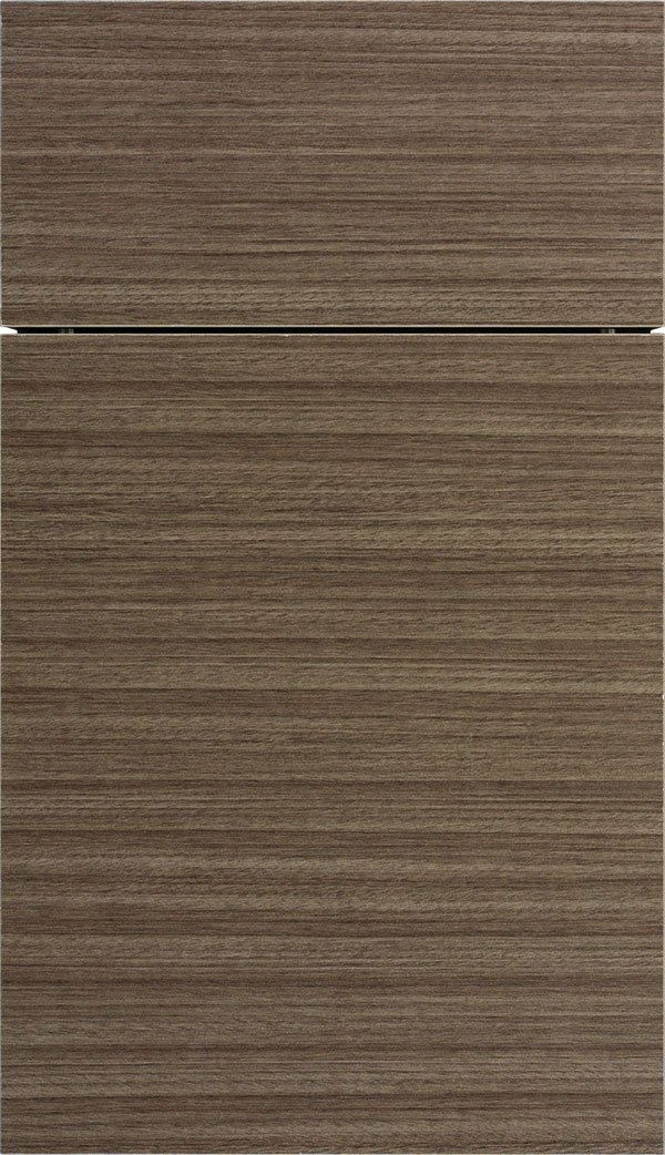 Contempra Horizontal Melamine cabinet door in Manatee