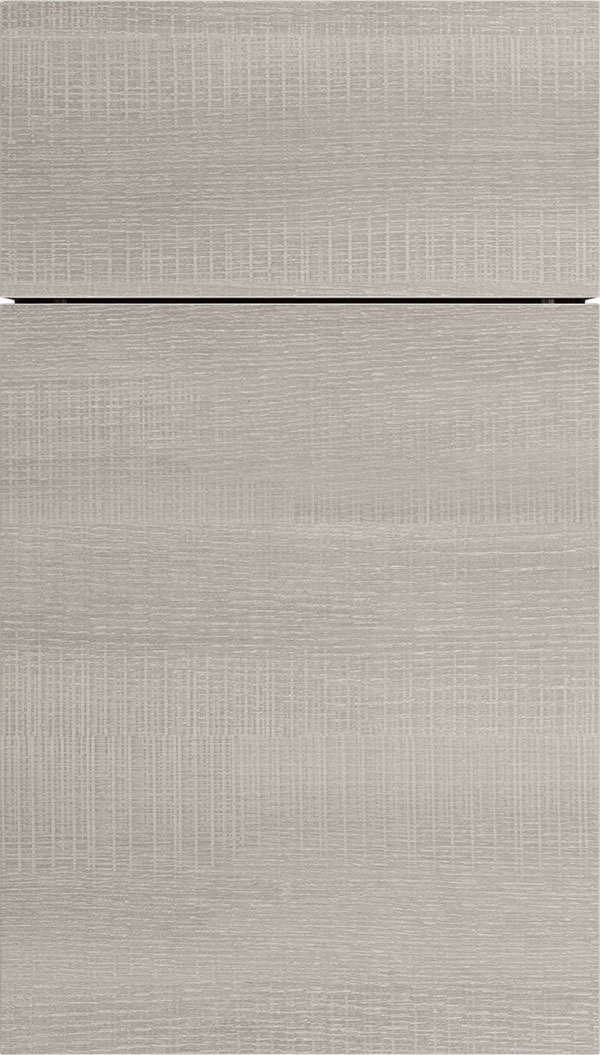 Contempra Horizontal Melamine cabinet door in Pier