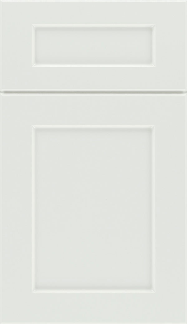 Coventry 5-Piece Thermofoil cabinet door in Satin White