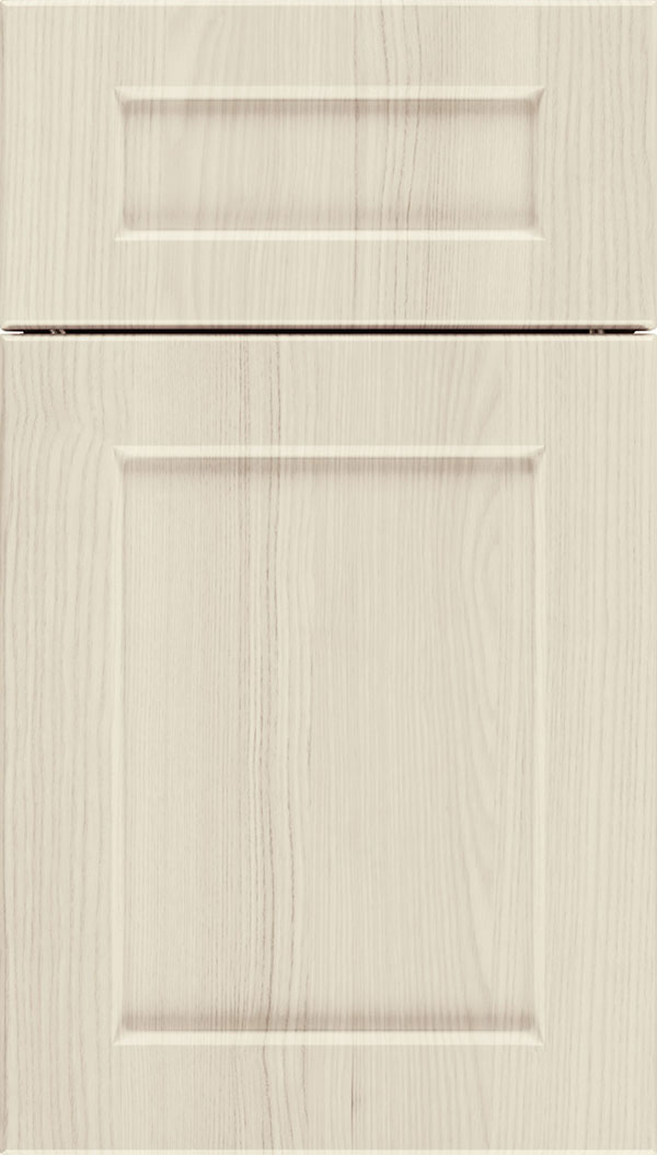 Coventry 5pc Thermofoil cabinet door in Talc