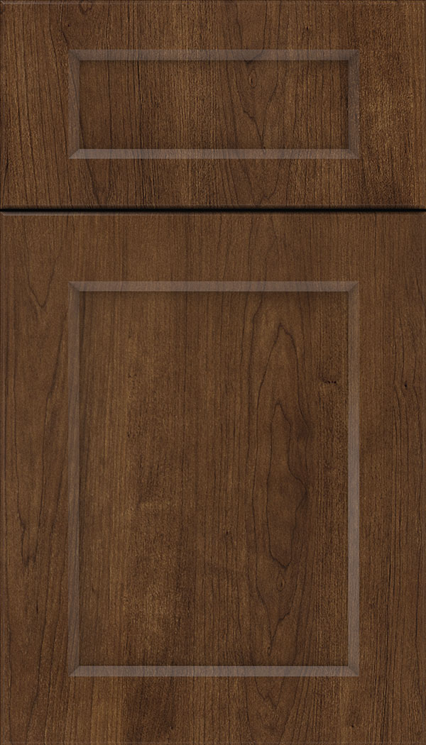 Coventry 5pc Thermofoil cabinet door in Woodgrain Black Bean
