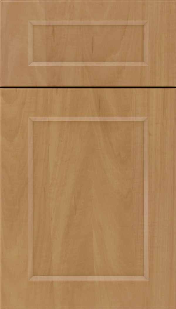 Coventry 5pc Thermofoil cabinet door in Woodgrain Chardonnay