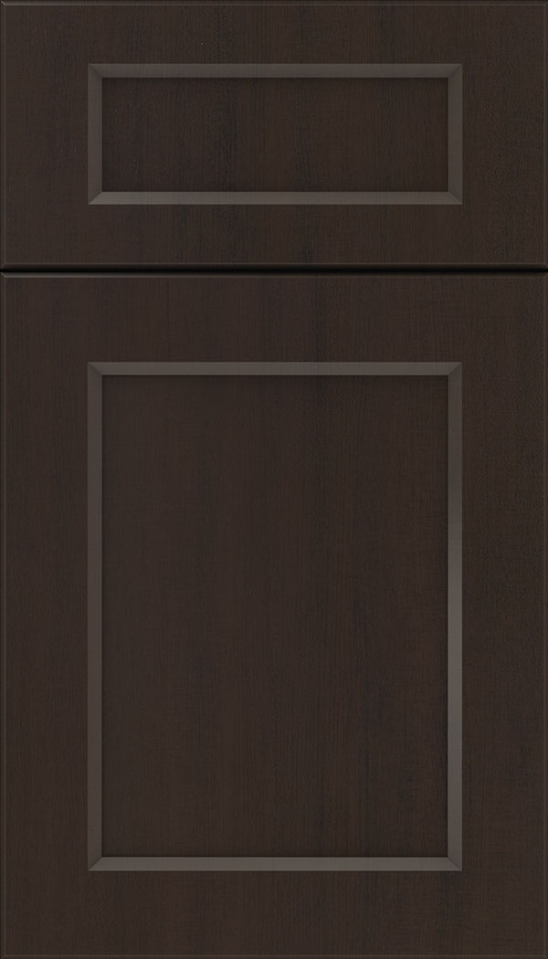 Coventry 5pc Thermofoil cabinet door in Woodgrain Sambuca