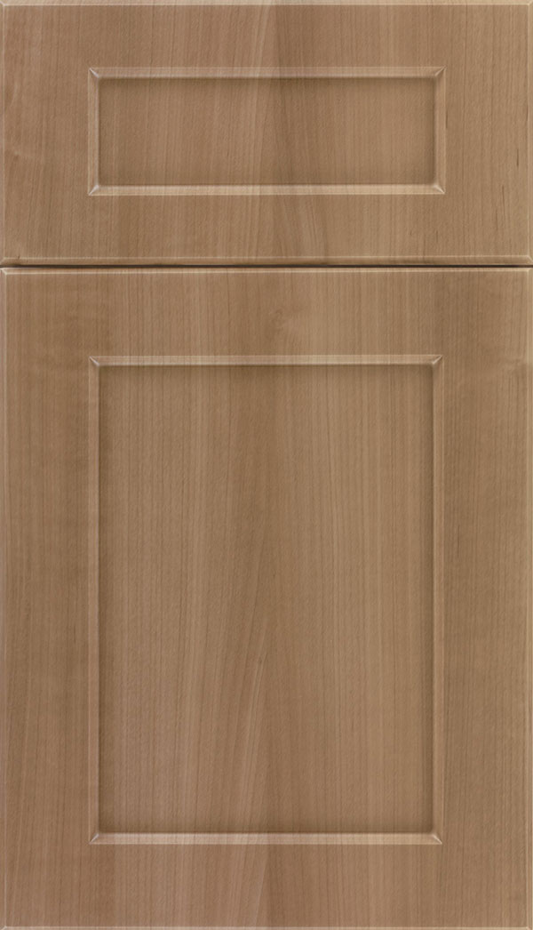 Coventry 5-Piece Thermofoil cabinet door in Woodgrain Satinwood