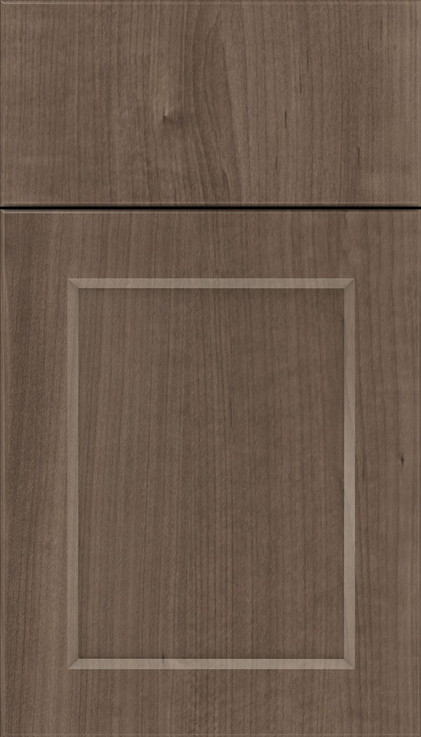 Coventry Thermofoil cabinet door in Warm Walnut
