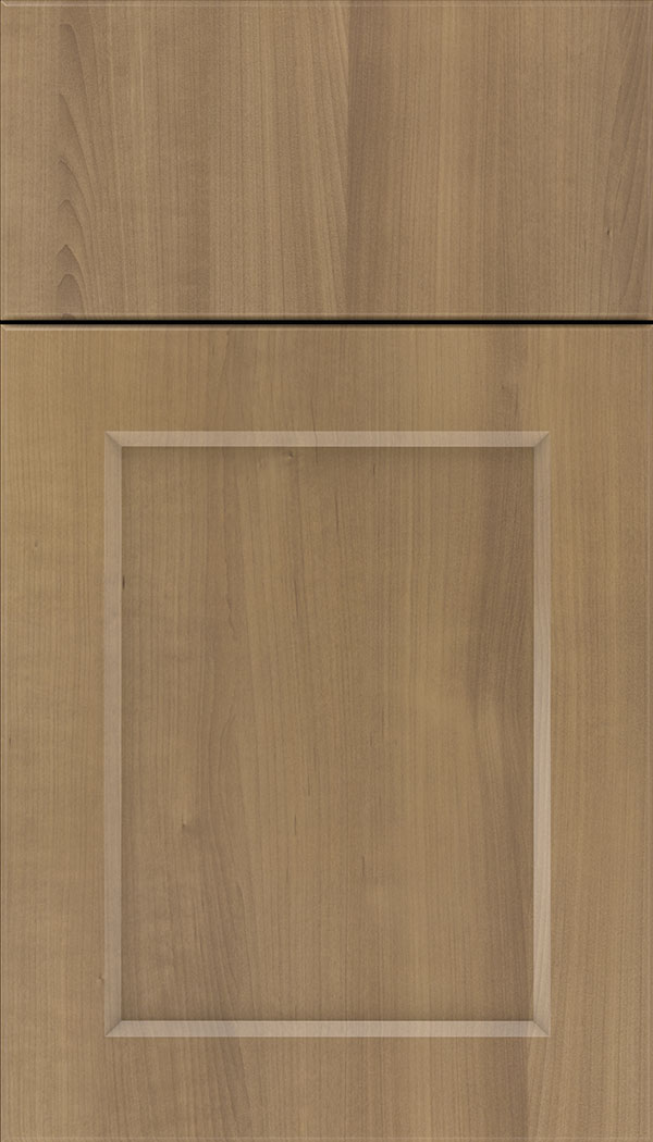 Coventry Thermofoil cabinet door in Woodgrain Satinwood