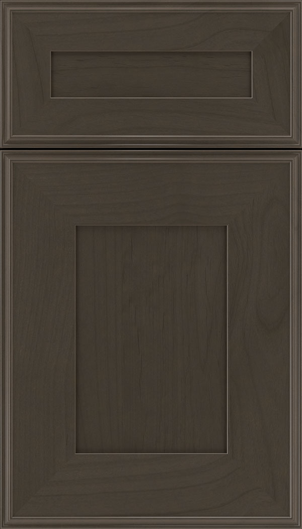 Elan 5pc Alder flat panel cabinet door in Thunder