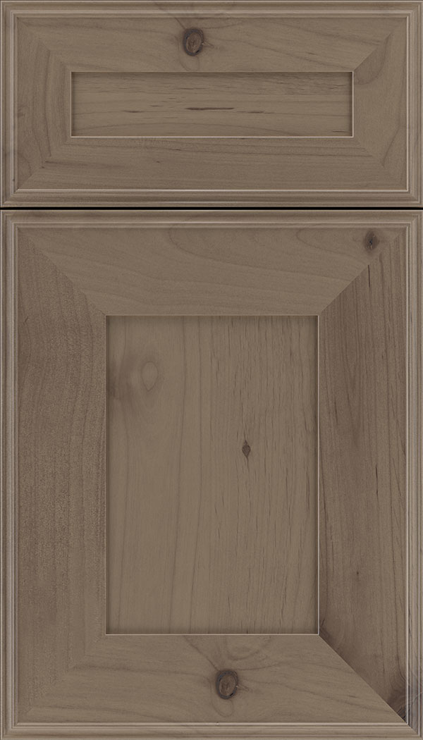 Elan 5pc Alder flat panel cabinet door in Winter