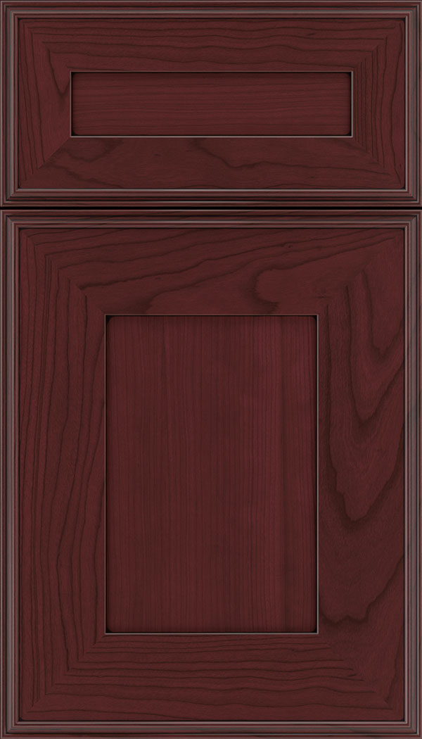 elan_5pc_cherry_flat_panel_cabinet_door_bordeaux_black