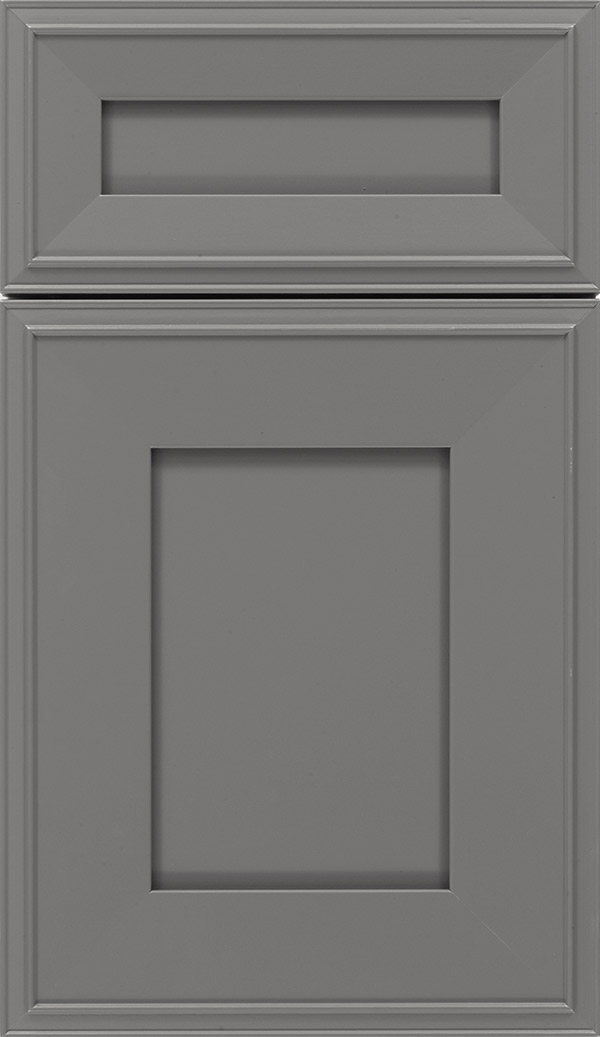 Elan 5pc Maple flat panel cabinet door in Cloudburst