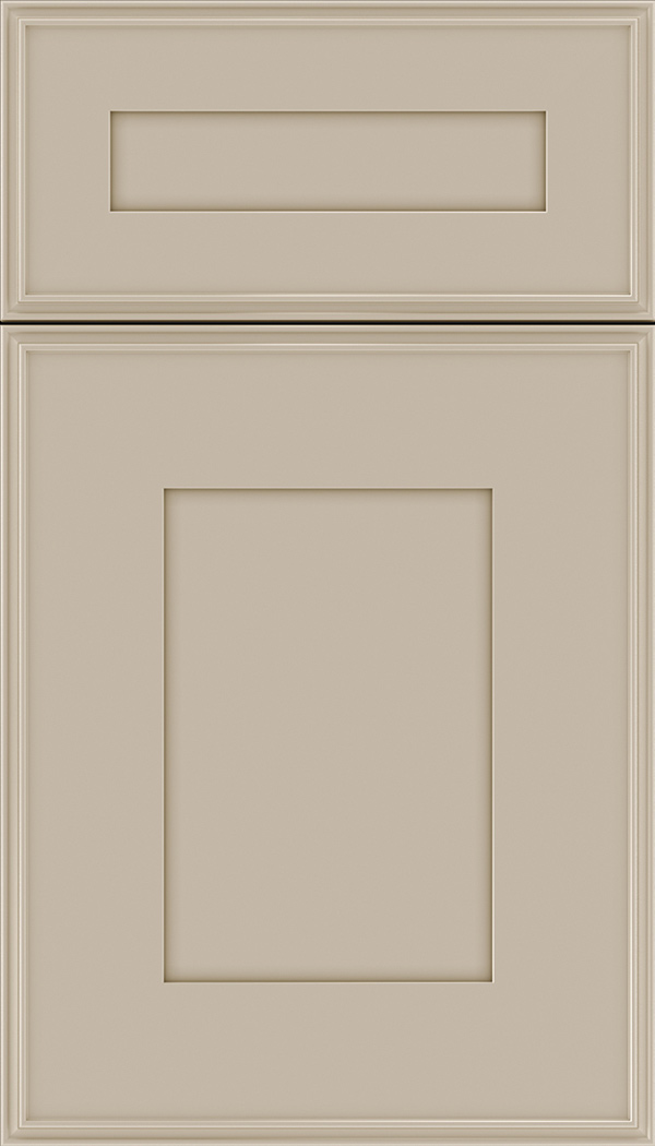Elan 5pc Maple flat panel cabinet door in Moonlight