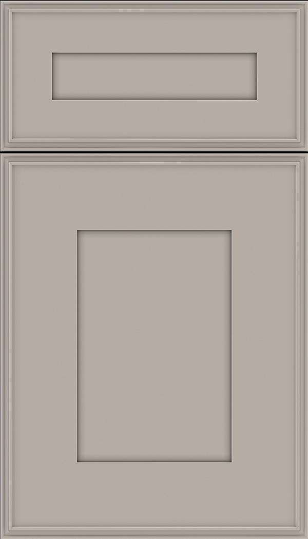 Elan 5pc Maple flat panel cabinet door in Nimbus