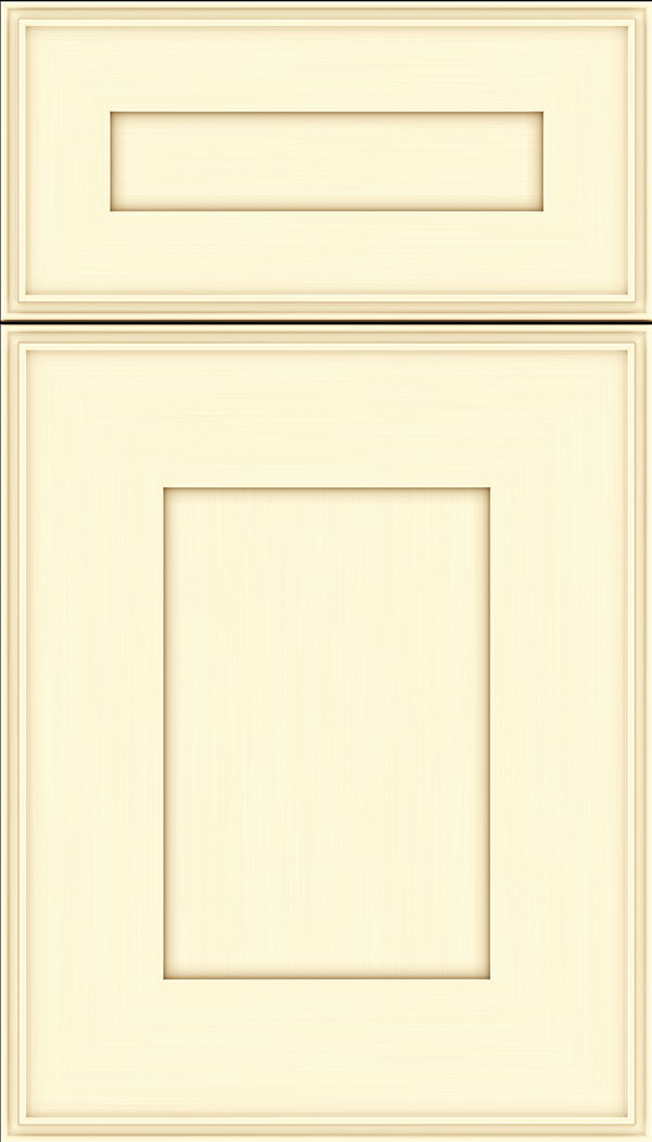 Elan 5pc Maple flat panel cabinet door in Palomino