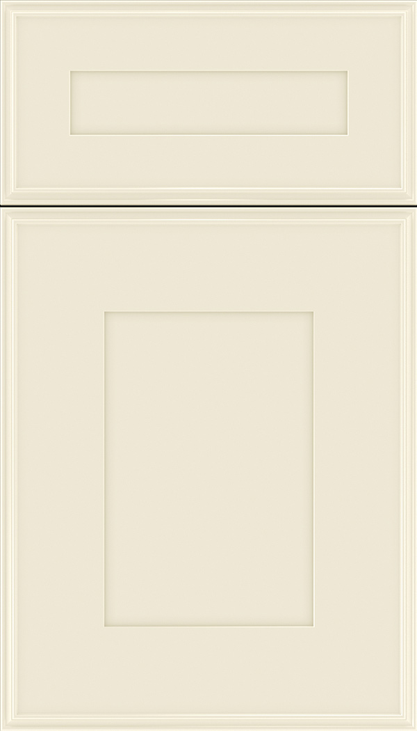Elan 5pc Maple flat panel cabinet door in Seashell