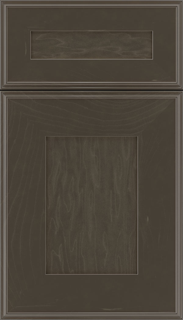 Elan 5pc Maple flat panel cabinet door in Thunder