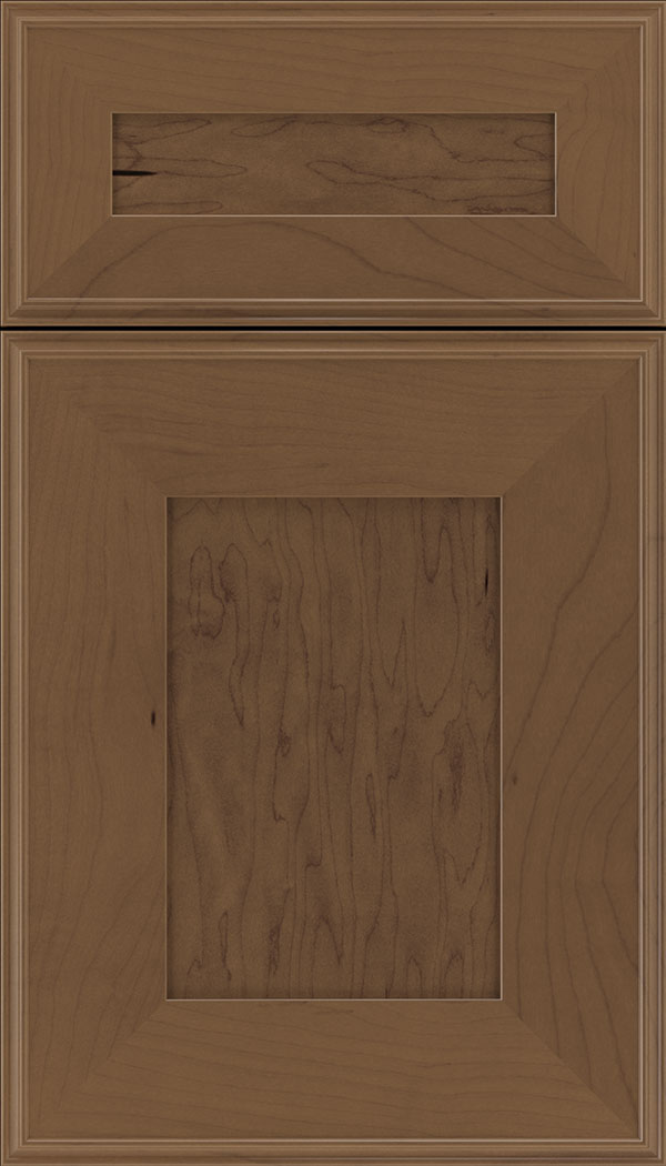 Elan 5pc Maple flat panel cabinet door in Toffee