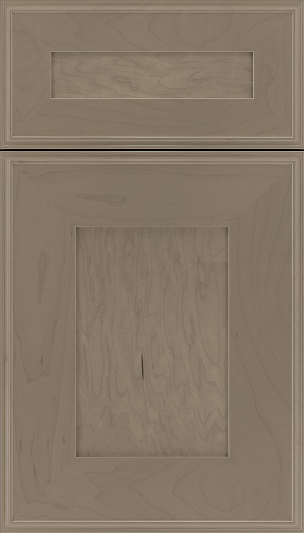 Elan 5pc Maple flat panel cabinet door in Winter