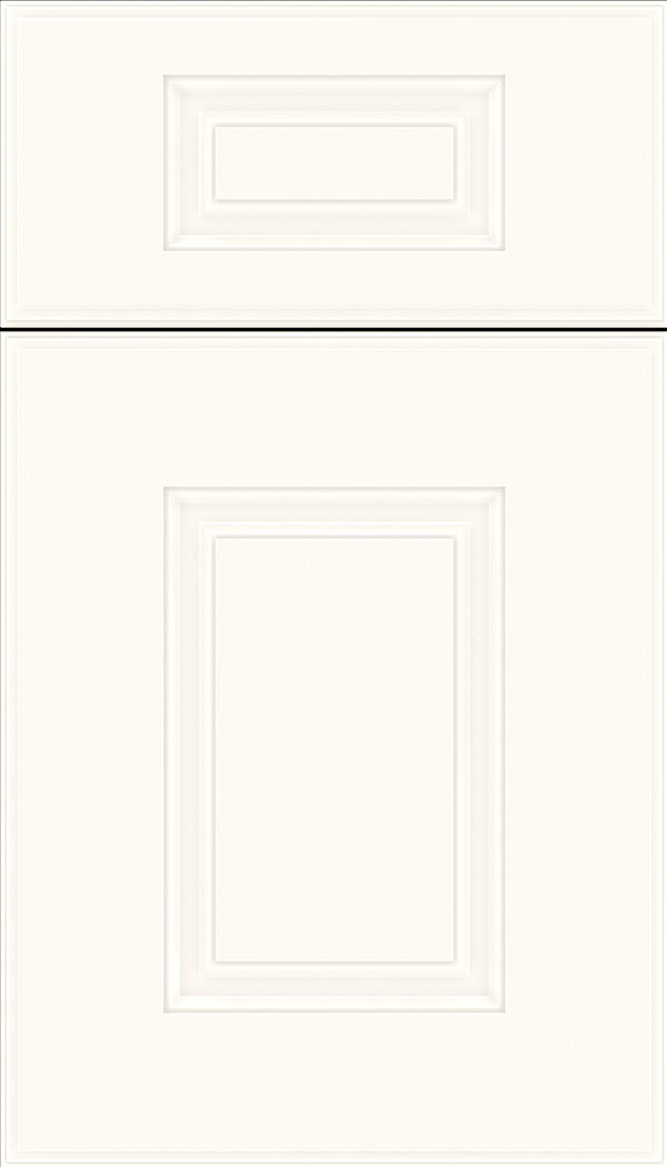 Eldorado 5pc Thermofoil cabinet door in Textured White