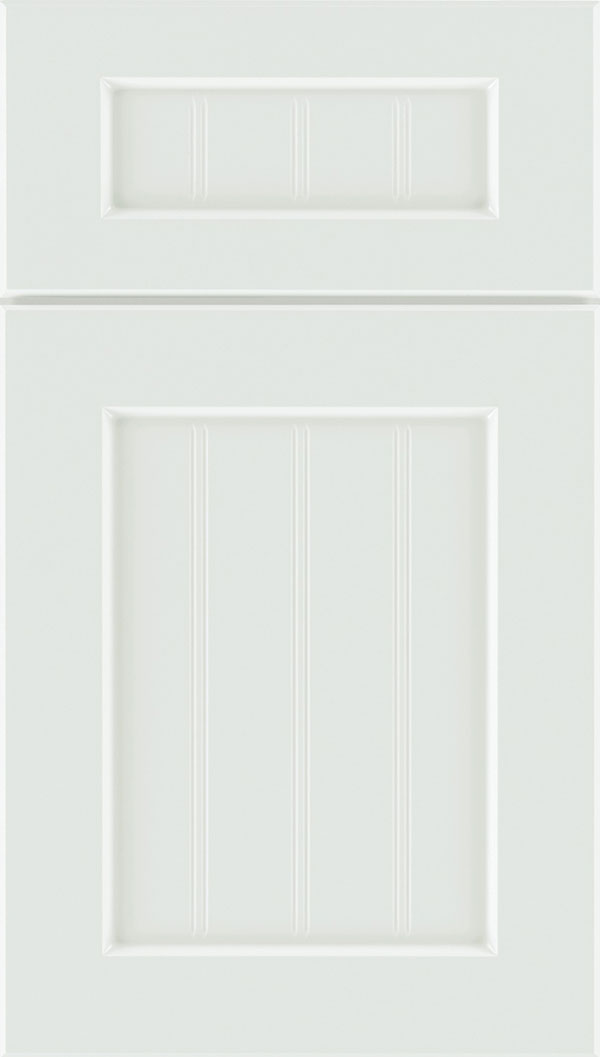 Glendale 5-Piece Thermofoil Beadboard cabinet door in Satin White
