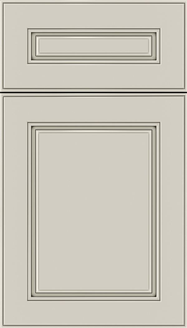 Hampton 5pc Maple raised panel cabinet door in Smoke