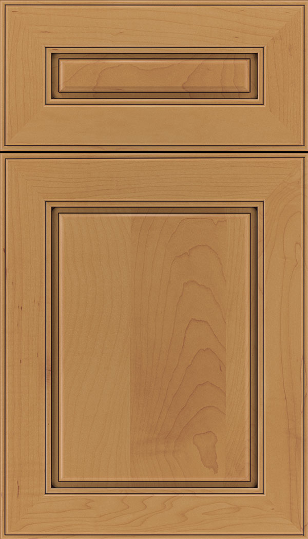 Maple Mocha Glaze Kitchen Cabinets