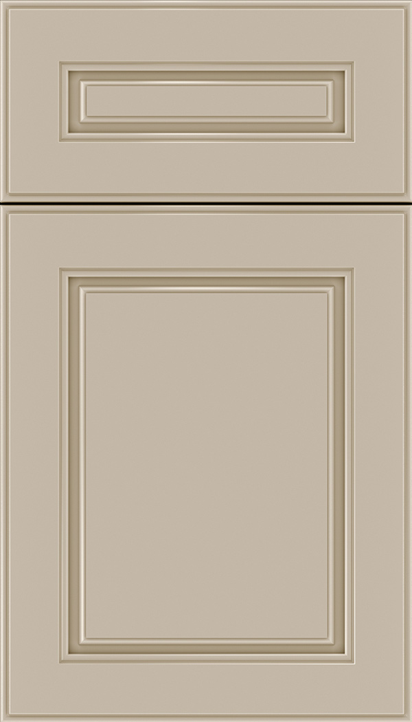Hampton 5pc Maple raised panel cabinet door in Moonlight