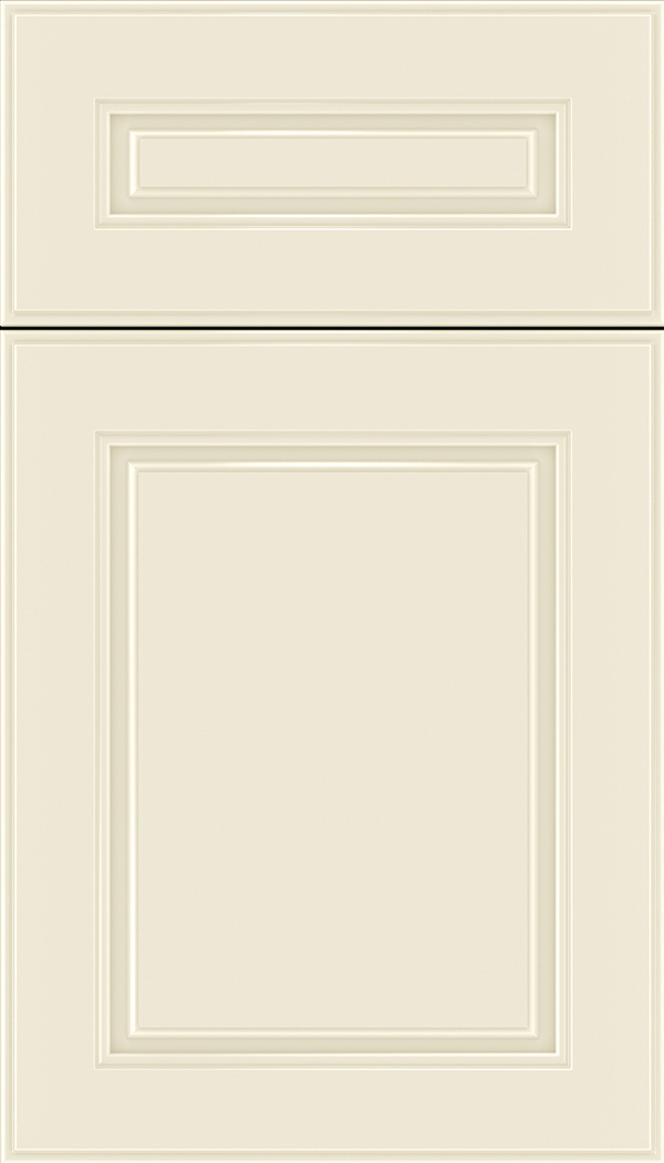 Hampton 5pc Maple raised panel cabinet door in Seashell
