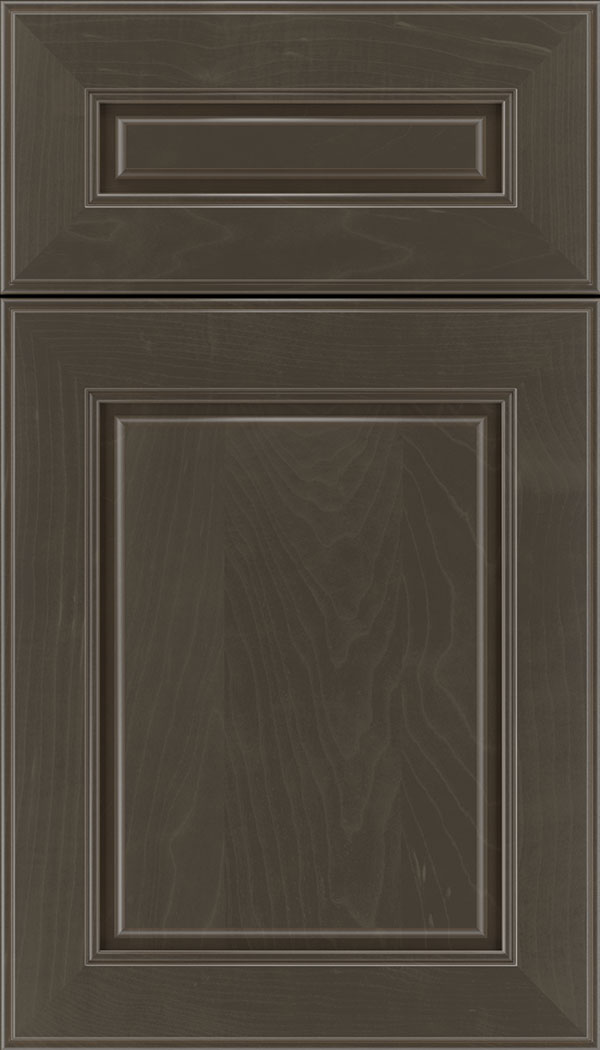 Hampton 5pc Maple raised panel cabinet door in Thunder