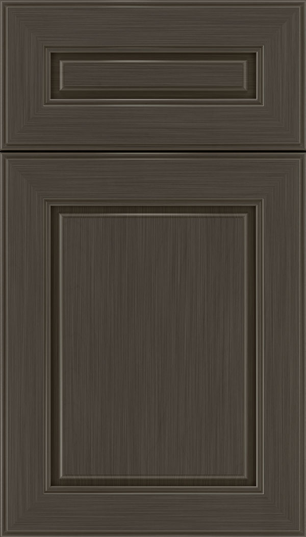 Hampton 5pc Maple raised panel cabinet door in Weathered Slate