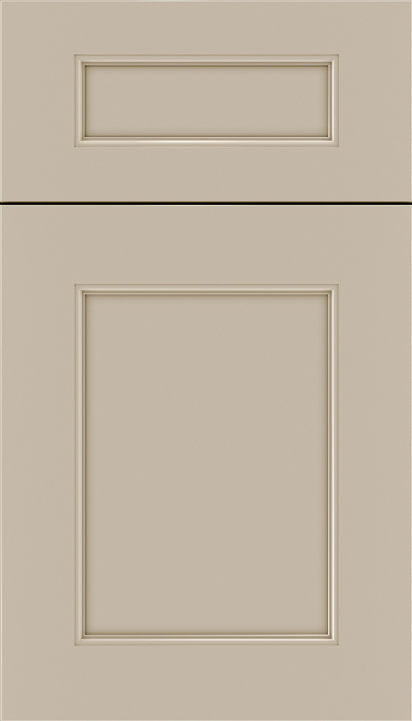 Lexington 5pc Maple recessed panel cabinet door in Moonlight