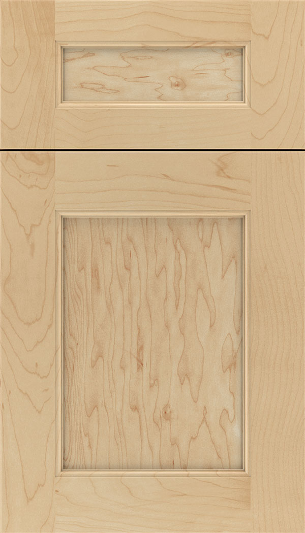 Lexington 5pc Maple recessed panel cabinet door in Natural